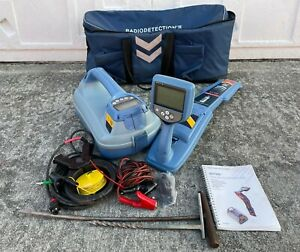 Spx Radiodetection Rd7100 Slq Tx 5 Pipe Cable Locator W Bag great Shape