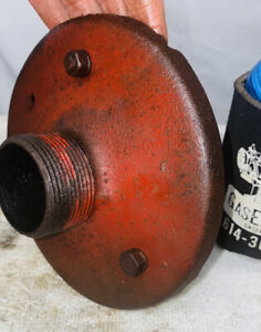 Stamped Muffler Hit Miss Gas Engine Fits Many Types 1 1 4 Thread 6 Diameter