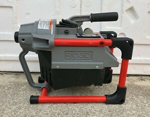 Ridgid K 60sp Sectional Drain Cleaning Machine Only mint Conditions