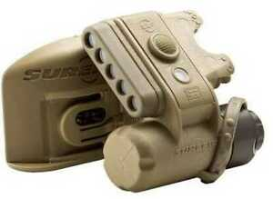 Surefire Helmet Light IR Yellow Green IR LED#x27;s Tan Md: HL1 D TN $184.84