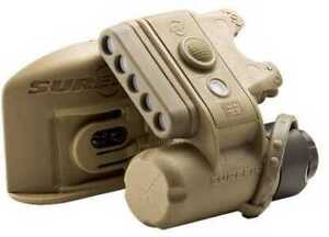 Surefire Helmet Light IR White IR LED#x27;s Tan Md: HL1 B TN $180.86