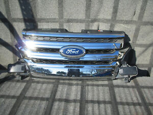 Ford Edge Front Grille Oem 2014 2013 2012 2011 Bt438a164