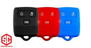 3x New Key Fob Remote Silicone Cover Fit For Ford Lincoln Mercury Mazda