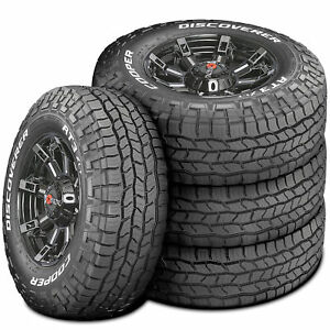 4 Cooper Discoverer At3 Xlt Lt 285 70r17 121 118s E 10 Ply A T All Terrain Tires