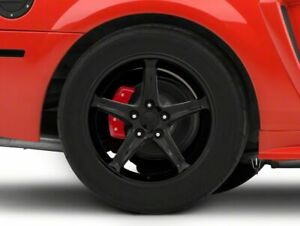 American Muscle Cobra R Rear Wheel In Black 17x10 5 Fits Ford Mustang 99 04