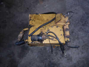 Ford New Holland 545d Loader Tractor Hydraulic Oil Tank Assembly D8nn875be 340b