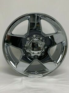 4 New Chevy 2500 20 Chrome Oe Replica Wheels 8x6 5 Chevy Gmc Sierra 2500 Hd