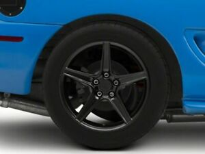 American Muscle Saleen Rear Wheel In Black 18x10 Fits Ford Mustang 1994 1998