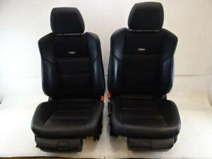 10 Mercedes W212 E63 Seats Front Amg Black