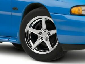 American Muscle Saleen Style Wheel In Chrome 17x9 Fits Ford Mustang 1994 1998