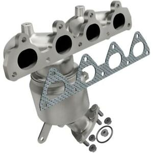 Catalytic Converter With Integrated Exhaust Manifold For 1999 2000 Honda Civic 1