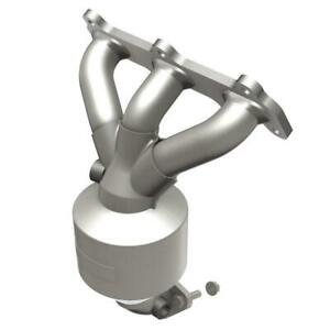 Catalytic Converter With Integrated Exhaust Manifold For 2001 Hyundai Santa Fe
