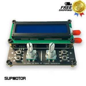 Rf Signal Source Generator 23 5mhz 6ghz Usb Power Supply Sma Differential Output