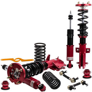 Racing Coilovers 24 step Adjustable Suspension For Ford Mustang 2005 2014 Struts