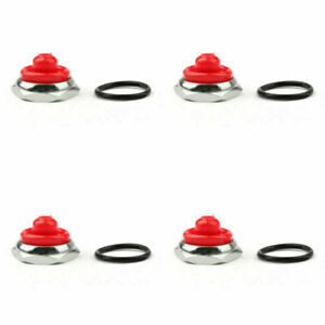 4x Car Toggle Switch Boot 12mm Rubber Waterproof Cover Cap Ip67 T700 6 Red