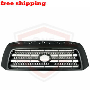 New Front Grille Black Frame For 2007 2009 Toyota Tundra Base W O Sport Package
