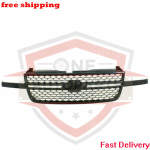 New Front Grill Grille Assembly For 03 07 Chevrolet Silverado 1500 Hd Gm1200586