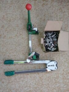 Strapping Tool Kit_clip Clamp W Tensioner W Box Clamps 42663