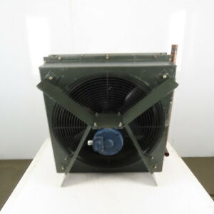 3 4hp 208 460v 3ph Compressor After Cooler 30 x30 3 Pass 3 8 Tube 12 Fins inch