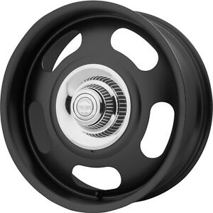 4 20x9 5 Black Wheel American Racing Vintage Vn506 5x4 75 5x5 0