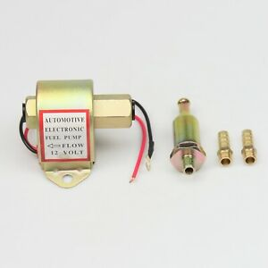 New 12v Electric Universal Fuel Pump With Diesel Petrol Low Pressure 4 6 Psi