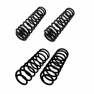 Lesjofors Front And Rear Coil Springs Kit For Jeep Wrangler With Ac