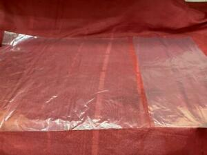 10 Large 20 X 24 Lay Flat Open Top 1 Mil Clear Plastic Packing Uline Poly Bag