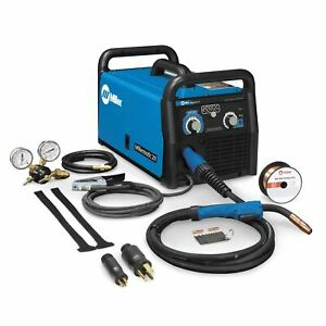 Miller Millermatic 211 Mig Welder With Advanced Auto set 907614