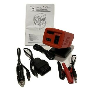 New Snap on Tools 18v Cordless Memory Saver Adaptor Red Ctms8850