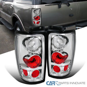 For 97 02 Ford Expedition Parking Tail Lights Rear Brake Turn Signal Lamps Pair