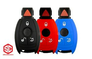 3x New Keyfob Remote Fobik Silicone Cover Fit For Select Mercedes Vehicles