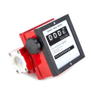 1 1 2 Digital Mechanical Fuel Meter For All Fuel Transfer Pumps 6 40 Gpm