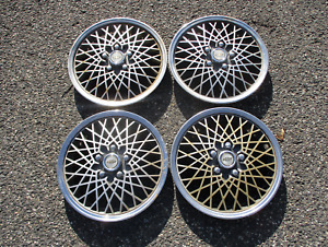 Genuine Chevy Celebrity Beretta Cavalier 14 Inch Mag Style Hubcaps Wheel Covers