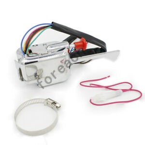 For Ford Buick Gm 12v Universal Street Hot Rod Turn Signal Switch Chrome
