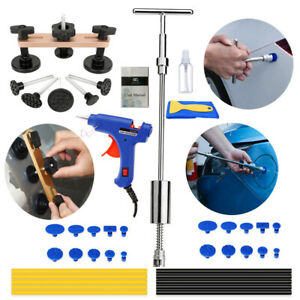 Auto Car Paintless Dent Repair Removal Tools Kit Puller Lifter Slide Hammer New