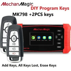 For 2017 2018 2019 2020 Ford Fusion Edge Remote Key Fob With Programming Tool