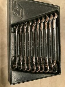 Snap On Ratcheting Wrench Set 10 19mm