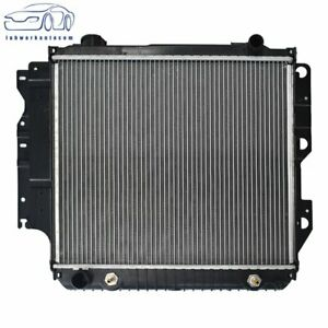 Radiator Direct Replacement For 87 06 Jeep Wrangler 4cyl 2 4l 2 5l V6 4 0l 4 2l