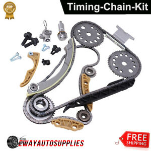 Engine Timing Chain Kit For Saturn Chevy Cavalier Malibu Cobalt Hhr Olds Pontiac