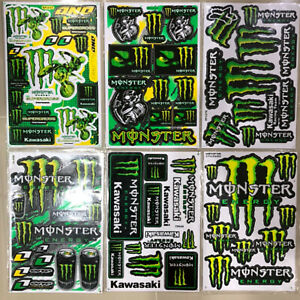 New Rockstar Energy Motocross Atv Racing Graphic Stickers Decals