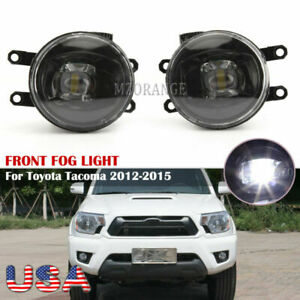 Led Fog Light For Toyota Tacoma 2012 2013 2014 2015 Factory Replacement L r Pair