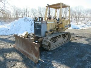 Caterpillar 416 Series 2 Tractor Loader Backhoe Cab 4x4 1991 8176 Hours