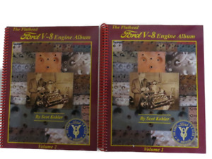 New Ford Flathead V 8 Engine Album 2 Volume Set Bk 13