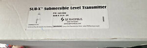 Sje Rhombus Submersible Level Transmitter Pn 1051996 0 34 4 20ma