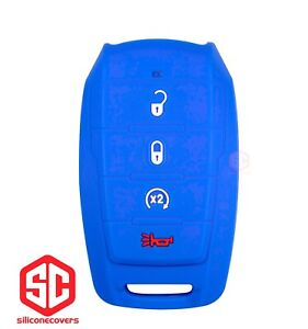1x New Keyfob Remote Fobik Silicone Cover Fit For Select Ram Vehicles