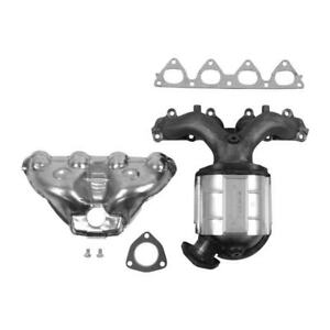 Catalytic Converter With Integrated Exhaust Manifold Fits 1996 2000 Honda Civic