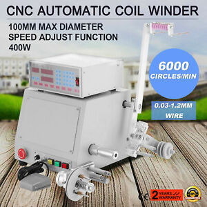 New 220v 0 03 1 2mm Computer Controlled Coil Transformer Winder Winding Machine