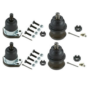 Moog Upper And Lower Ball Joints For Buick Chevelle Pontiac Oldsmobile