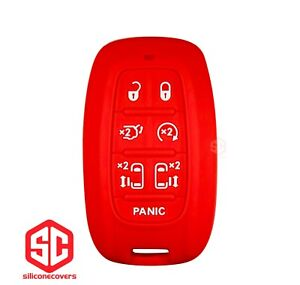 1x New Keyfob Remote Fobik Silicone Cover Fit For Select Chrysler Vehicles