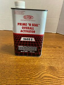 Dupont Activator 2605 S Prime n Seal Overall Activator Quart Htf